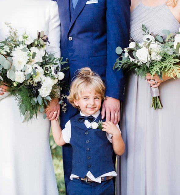Bride's son