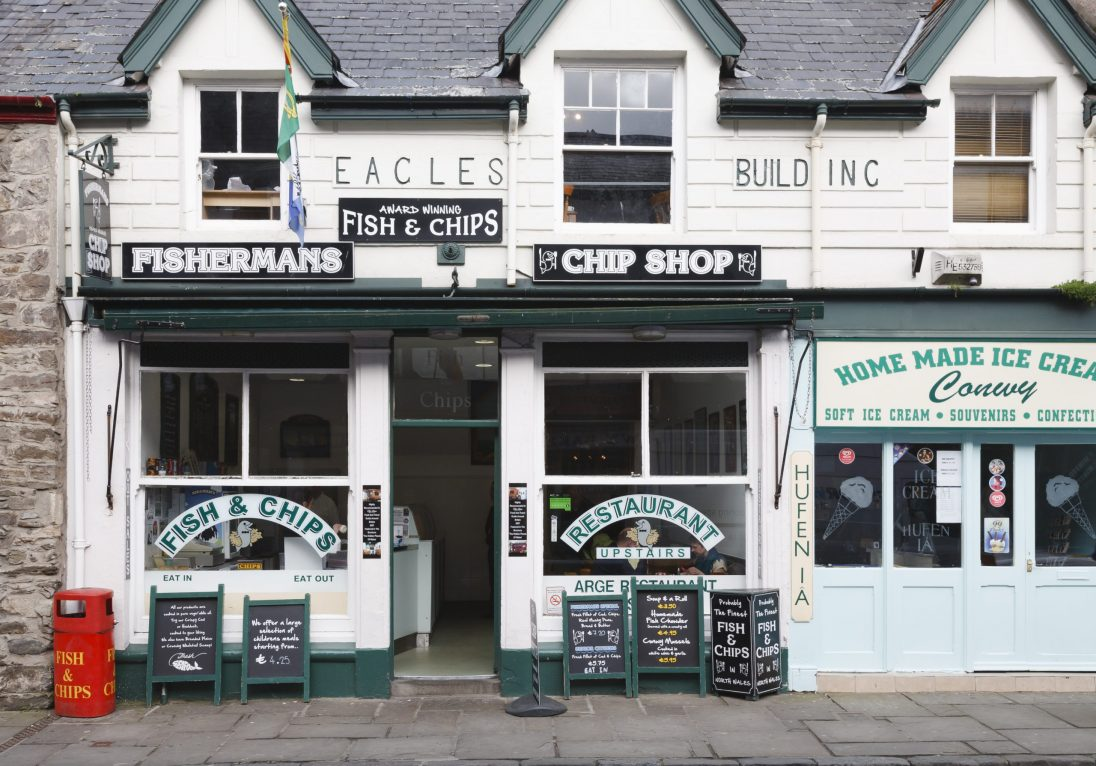 Picture of a fish and chip shop