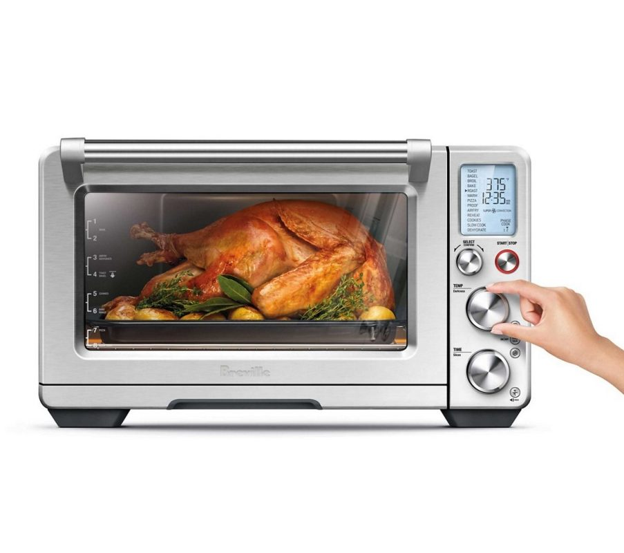 Image of a chicken cooking in a Smart Oven Air